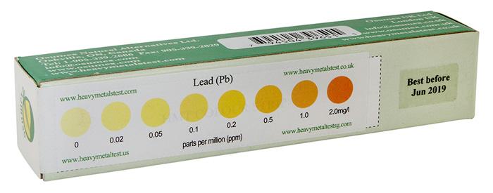 sample of a hmt lead test kit